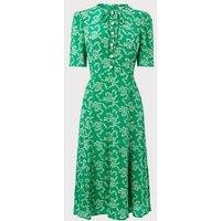 Montana Green Silk Dress, Green