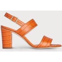 Rhiannon Tangerine Sandals, Tangerine