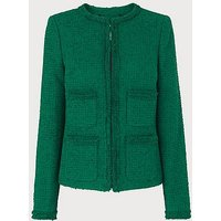 Charles Green Tweed Jacket, Emerald