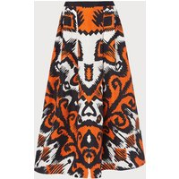 Andrea Orange Skirt