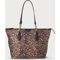 Brooke Animal Print Tote Bag