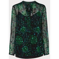 Roe Green Blouse, Black
