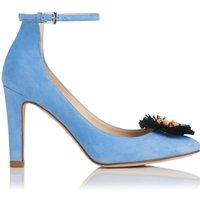 Gwen Blue Suede Courts