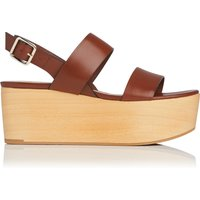 Colleen Brown Leather Sandals