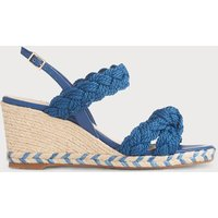 Roxie Blue Espadrille Sandals