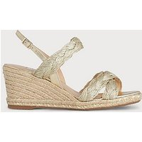 Roxie Soft Gold Espadrille Sandals, Soft Gold