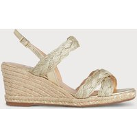 Roxie Soft Gold Espadrille Sandals