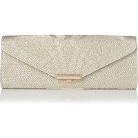 Cecilia Gold Clutch Bag