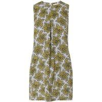 Emmie White Yellow Linen Dress