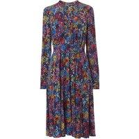 Letisa Blue Floral Dress