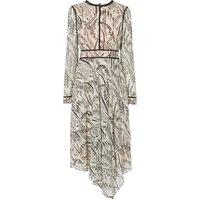 Linnea Cream Silk Dress