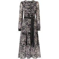 Nao Black Silk Dress