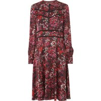Robyn Red Floral Dress