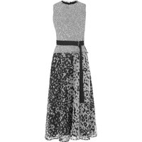 Viviene Black White Dress