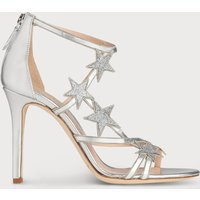 Felicity Silver Leather Sandals