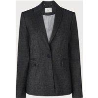 Ellie Navy Cream Cotton Jacket