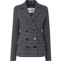 Rika Blue Cream Jacket