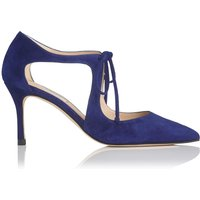 Hyelin Blue Suede Courts