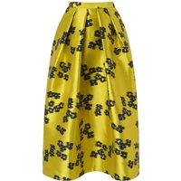 Sana Blue Yellow Skirt