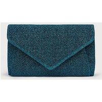Lorna Blue Clutch Bag, Blue