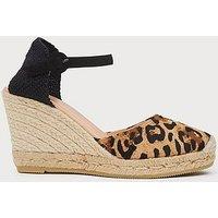 Harrison Leopard Print Espadrille Sandals, LEOPARD PRINT