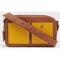 Matilda Tan Leather Shoulder Bag, Tan