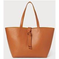 Georgia Tan Leather Tote Bag, Tan