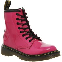 Dr. Martens Lace boots Inside Zip Brooklee (jnr) HOT PINK PATENT