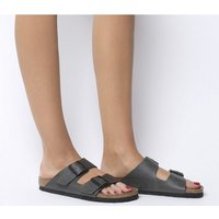 Birkenstock Arizona Two Strap Pull Up Anthracite Veg