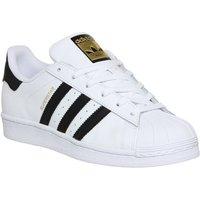 adidas Superstar  WHITE BLACK FOUNDATION