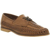 Office Brixton Weave Lace TAN WASHED LEATHER