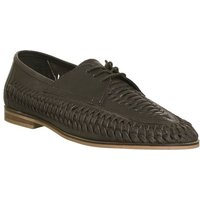 Office Brixton Weave Lace BROWN WASHED LEATHER