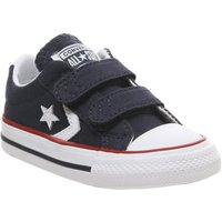 Converse Star Player Infant NAVY WHITE RED