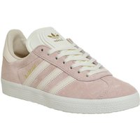 Adidas Gazelle Trainers Vapour Pink Linen Cream White