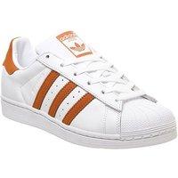 adidas Superstar 1 WHITE ORANGE