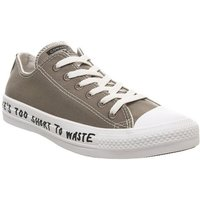 Converse All Star Low MASON TAUPE BLACK WHITE RECYCLE