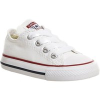 Converse All Star Low Infant Shoes WHITE