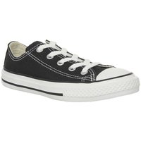 Converse All Star Low Youth BLACK WHITE