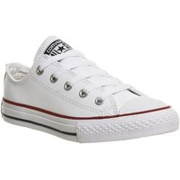 Converse All Star Low Youth OPTICAL WHITE LEATHER