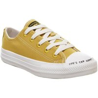 Converse All Star Low Youth GOLD DART NATURAL WHITE RENEW