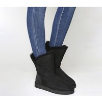 UGG Bailey Button II Boots BLACK SUEDE 2682100079