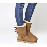 UGG Bailey Bow II Calf Boots CHESTNUT SUEDE