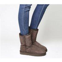UGG Classic Short II Boots CHOCOLATE SUEDE 2682350873
