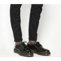 shop for Dr. Martens 3 Eyelet Shoes BLACK PATENT at Shopo