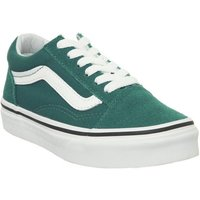 Vans Old Skool Lace K QUETAL GREEN TRUE WHITE