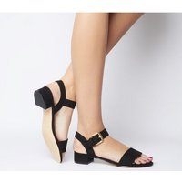 Office Morgan Block Heel Sandal BLACK