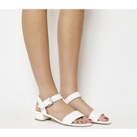 shop for Office Morgan Block Heel Sandal WHITE at Shopo