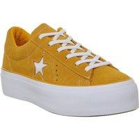 Converse One Star Platform FIELD ORANGE WHITE
