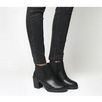 Office Active Mid Heel Chelsea Boot BLACK