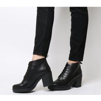 Vagabond Grace Lace Boot BLACK LEATHER